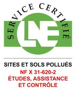 Certification 33720 sites et sols pollués